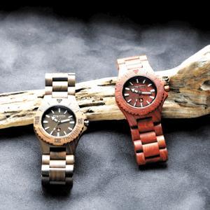 ウッドウォッチ 木製腕時計 ロックスモーション ROCKS MOTION ユニーク雑貨 メンズ|ammax