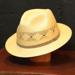 パナマハット メンズパナマ帽子 バーティーブルー バーティーエアー NEW XL |ammax