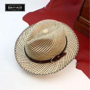 パナマハット 紳士のパナマ帽子 しかも遊び心がわかる そんな表現が出来るバーティームーン|ammax