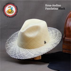 パナマハット メンズ芸術パナマ ファンカラティーナ 編み込みが違うパナマ帽子|ammax