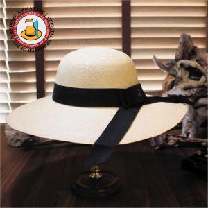 グアヤキル創立記念特別期間中商品 パナマハット エクアンディーノ スクエア― ナチュラル 公認認定書 オフィシャルバッグ付き|ammax