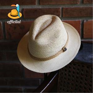 パナマハット 2種類の編み方を合わせ持った ワイルド ワン クールなパナマ帽子