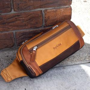 ウエストバッグ メンズ 革 レザー 鞄 名入れ ペニッシュミント インセプション 1321 |ammax
