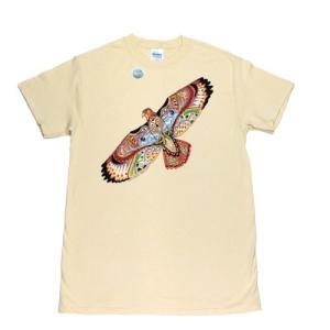 レディース Tシャツ リバティーグラフィックス クレイン シルクプリントTシャツ|ammax