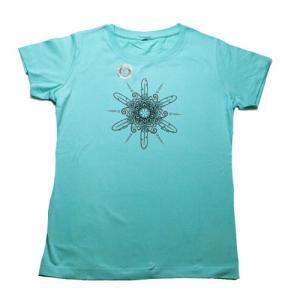レディース Tシャツ リバティーグラフィックス シエラ フェザー シルクプリントT|ammax