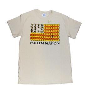 メンズ Tシャツ リバティーグラフィックス ポラン ネーション シルクプリントTシャツ|ammax