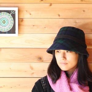 ツイードハット 人気のクロシェ お洒落レディース帽子 アイルランド製 タータン 30周年記念セール|ammax