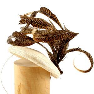 ヘッドドレス 礼装帽子 シナマイ帽子 フレーズ ドレスハット 髪飾り|ammax