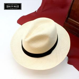 パナマハット 紳士のパナマ帽 混じりない本物のパナマ帽子 バ...