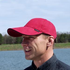 キャップ 帽子 メンズ ロングバイザー Green in a Bottle ELラインLV レッド ウォーキング|ammax