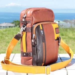 ショルダーバッグ  メンズ 革鞄 ペニッシュミント クラブスター 16001 |ammax