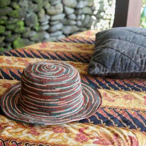 パナマハット エクアアンディーノパナマ帽子 お洒落なラテッシャ テラコッタ 公式バッグ カートン 証明書付き|ammax
