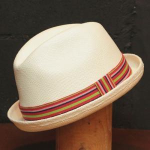 パナマハット ラディカルウェーブ パナマ帽子 リコッタ カラー|ammax