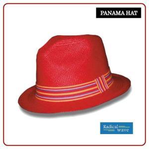 パナマハット ラディカルウェーブパナマ帽子 サンバーン カラー |ammax