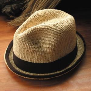パナマハット ラディカルウェーブパナマ帽子 ステップオン|ammax