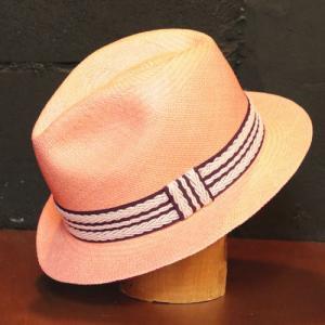 パナマハット 40% 適用商品 ラディカルウェーブパナマ帽子 サンライズ カラー |ammax