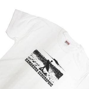 鎌Tシャツ 鎌倉 湘南のTシャツ ビーチブレーク ホワイト|ammax