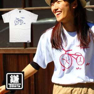 鎌Tシャツ 鎌倉 湘南のTシャツ YOYO バイク ブルーライド|ammax
