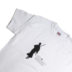 鎌Tシャツ 鎌倉 湘南のTシャツ  侍  ホワイト|ammax