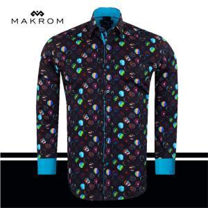 ファンタジー ドレスシャツ カジュアルシャツ マクロム|ammax