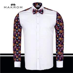 トップキッス ドレスシャツ 粋な大人のカジュアルドレスシャツ マクロム|ammax