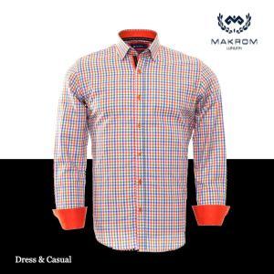 ドレスカジュアルシャツ カラーシャツ ワイシャツ マクロム リスボン|ammax