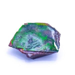 アンモライト かけら 欠片 S 標本にどうぞ パワーストーン お守り 天然石 化石 1602 ammolite-museum
