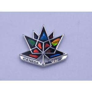 カナダ 政府公認 カナダ建国 150周年記念 ピンバッチ C150PI|ammolite-museum