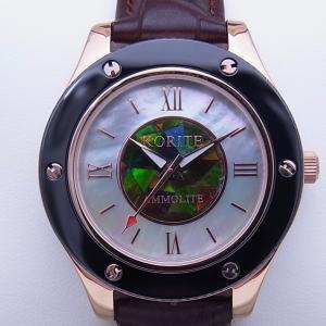クラシック アンモライト 腕時計 (婦人用) LWBR|ammolite-museum