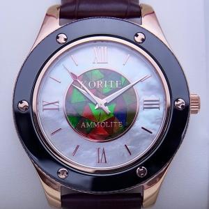 クラシック アンモライト 腕時計 (紳士用) MWBR|ammolite-museum
