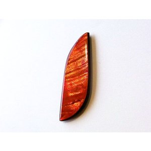アンモライト ナチュラル ルース コレクターズグレード ダブルフェイス nrw015|ammolite-museum