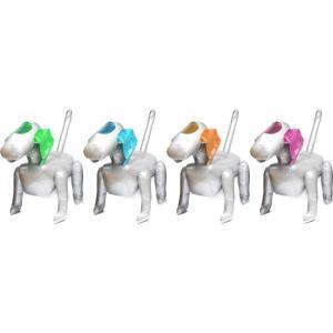 ビニールメカドッグ 超BIGサイズ ビニール製のロボット犬 4種|amnetcity