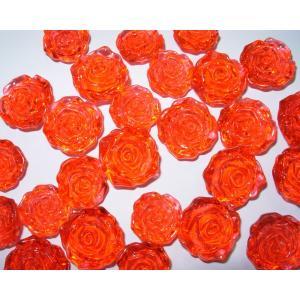 穴なしアクリルストーン 薔薇/ばら 23〜27mm|amnetcity