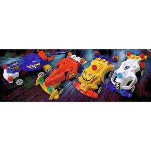 4種セット ブロックシリーズ フリクションF1カー 【レゴ互換】|amnetcity