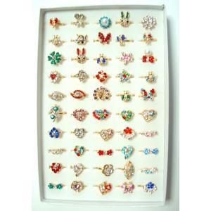 5個入 デザインリング 豪華な指輪コレクション|amnetcity