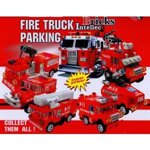 6種セット 世界の消防車ブロック 【レゴ互換】|amnetcity