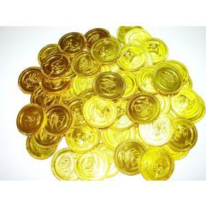 おもちゃの金貨 銀貨 パイレーツ金貨 60枚|amnetcity