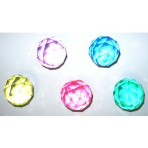 4色セット スーパーボール ダイヤモンドカット 32mm|amnetcity