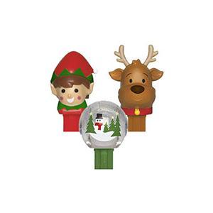 PEZ ペッツ  クリスマスシリーズ、2018年版、厚足、3種セット、ルーズ Christman|amoju