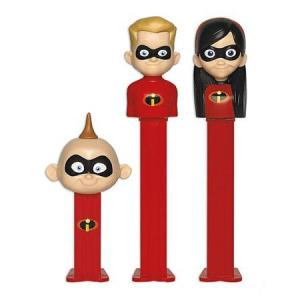 PEZ ペッツ ディズニー、インクレディブル2、厚足、3種セット、ルーズ Disney Incredibles2|amoju