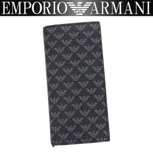 エンポリオアルマーニ EMPORIO ARMANI 財布 メンズ 長財布 Y4R060 YO23J 86526LW 男性用 アルマーニ|amonduul