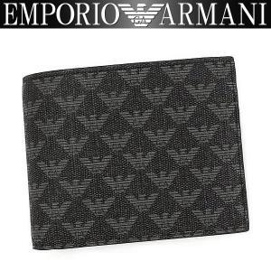 エンポリオアルマーニ EMPORIO ARMANI 財布 メンズ 二つ折り財布 Y4R065 YO23J 865262 男性用 アルマーニ|amonduul