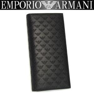 エンポリオアルマーニ EMPORIO ARMANI 財布 メンズ 長財布 YEM474 YC043 80001 男性用 アルマーニ|amonduul