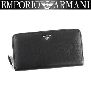 エンポリオアルマーニ EMPORIO ARMANI 財布 メンズ 長財布 ラウンドファスナー YEME49 YAQ2E 81072 男性用 アルマーニ レザー|amonduul