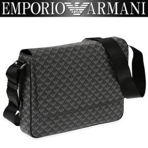 エンポリオアルマーニ EMPORIO ARMANI ショルダーバッグ メンズ バッグ 男性用 アルマーニ Y4M058 YO23J 86526 PVC グレー 斜めがけバッグ|amonduul