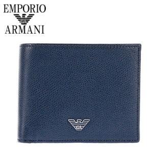 エンポリオアルマーニ EMPORIO ARMANI 財布 メンズ 二つ折り財布 YEM122-YAQ2E/80214 男性用 アルマーニ|amonduul