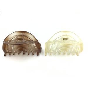 ヘアーアクセサリー バンスクリップ 新作 半透明 ぼかしカラー 爽やか 涼しげ W10cm BCD-2012|amongre