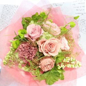 プリザーブドフラワー 花束  花 2020 両親贈呈品 プレゼント 結婚式 電報 両親への記念品 退職祝い 結婚記念日 男性 女性 退職  花  「プリザーブドの花束」|ampoule-shop