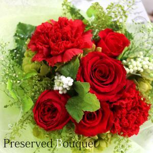 母の日 プレゼント 花 プリザーブドフラワー 花束 ブーケ バラ 誕生日 お祝い 30代 40代 50代 60代 ギフト 贈り物 退職祝い お見舞い 「バラの花束」|ampoule-shop