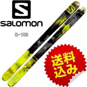 【SALOMON】2015モデル  Q-105 深雪を手軽に楽しむために生み出された『Q』シリーズ。...
